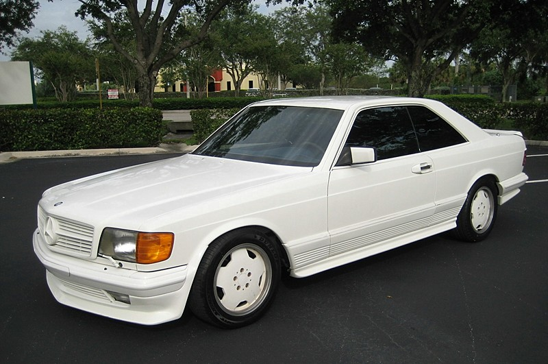 1983 Mercedes Benz 500sec Amg Miami Vice Style South