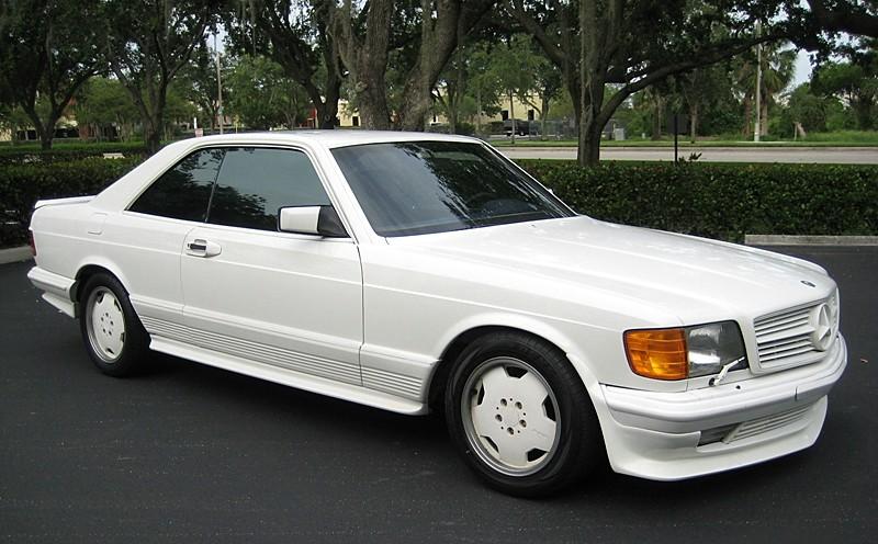 1983 Mercedes Benz 500SEC AMG Miami Vice